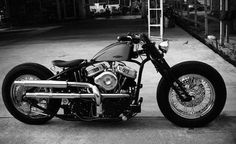 Harley-Davidson Panhead bobber ахуенный же