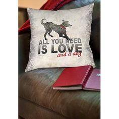 Thumbprintz All You Need Indoor Pillow