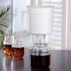 This cold brew system can cut your coffee's acidity in half.