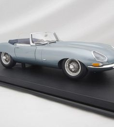 Amalgam Collection has painstakingly recreated the Jaguar E-Type Series 1 3.8 Roadster in an 1:8 scale model. It is so choice. If you have the means, I highly recommend picking one up.    –<em>Bill@ChoiceGear</em>