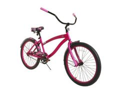 Dynacraft 8153-47TJ Decoy Women's Cruiser Camo Bike, 24-Inch, Red/Pink/Black - http://www.bicyclestoredirect.com/dynacraft-8153-47tj-decoy-womens-cruiser-camo-bike-24-inch-redpinkblack/