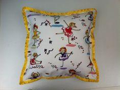 Tiny Dancer Hypoallergenic Cushion. 33 x 33cm by Saint Dorothy. £12.99