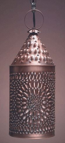 Chisel Punched Tin Wall Sconce | Punched Tin Lighting | Pinterest ...