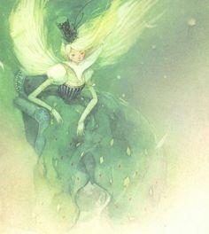 "Kim Min Ji, ""Wizard of Oz"" illustration Book Illustration, Watercolor Illustration, Kim Min Ji, Kids Story Books, Wizard Of Oz, Traditional Art, Fantasy Art, Cool Art, Character Design"