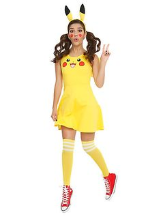 Pokemon Pikachu Costume DressPokemon Pikachu Costume Dress,