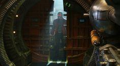 Les Gardiens de la Galaxie : Star-Lord avec et sans masque