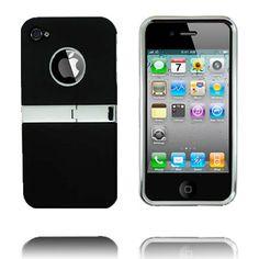 Kick-Stand Deksel (Sort) iPhone 4/4S Deksel Iphone 4s, Sorting, Kicks