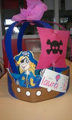 Kroon voor Laura die heel erg van piraten houdt!