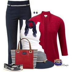 Let's Go Sailing, created by anna-campos on Polyvore