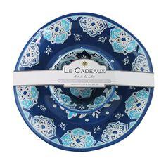 Le Cadeaux Melamine Chip and Dip Set Havana  sc 1 st  Pinterest & Le Cadeaux Melamine Chip and Dip Set Allegra | Best Melamine ...