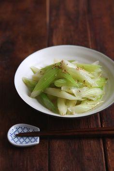旨塩セロリ。 by 栁川かおり   レシピサイト「Nadia   ナディア」プロの料理を無料で検索