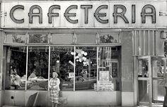 Marcia Bricker Halperin's - Garden Cafeteria. Lower East Side, Manhattan, 1977.
