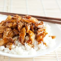 Slow Cooker Chicken Teriyaki - incredibly simple and bursting with flavor.