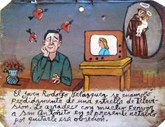 Родольфо Веласкес совершенно потерял голову от телезвезды. Он благодарит Святого Антония, что смог преодолеть эту страсть.