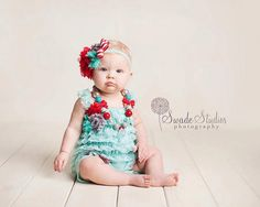 baby headband, lace headband, Piper Lily red lace flower, gray shabby, striped bow summer baby girl photography prop