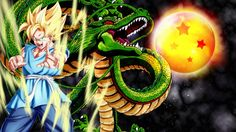 Son Goku and Shenron digital wallpaper Dragon Ball Son Goku Super Saiyan Dragon Ball Gt, New Dragon, Wallpaper Do Goku, 1080p Wallpaper, Dragonball Wallpaper, Wallpaper Downloads, Iphone Wallpaper, Akira, Goku Vs Frieza