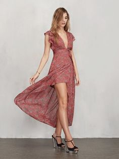 Wherever you go, you can look like a lady - a hot one. The Charlene Dress. https://www.thereformation.com/products/charlene-dress-camille?utm_source=pinterest&utm_medium=organic&utm_campaign=PinterestOwnedPins