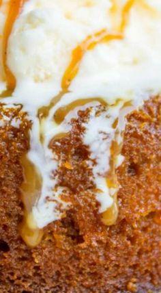 Pumpkin Butterscotch Molten Lava Cakes