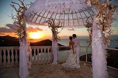 Six gorgeous villas available for weddings on St. John.  Photo: Steve Simonsen