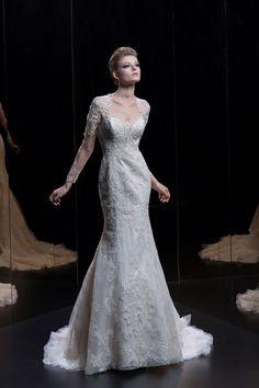 Νυφικά Demetrios Platinum - Style DP329 Wedding Blog, Engagement, Bride, Stylish, Wedding Dresses, Lace, Long Sleeve, Inspiration, Arizona
