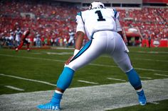 c75d9b3180bb LOOK: Cam Newton wears flashy 'New Year's Day' cleats | The Sports Daily