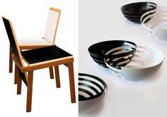 Left: #SpringSummer2013 #SS13 #Repair #Trend #Architecture #Interiors #Furniture #Report by #TheTrendBoutique #MacroTrends Courtesy of Inspirations at Maison et Objet Right: Eclipse Fruit Bowls by Sakurah Adachi - Photo Credit: Sakurah Adachi