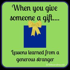 Taylor Swift and the Country Music Awards... Gifts from the Generous Stranger http://brielleandme.net/lessons-generosity-concerts-lifetime/