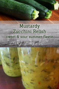 Zucchini Relish Recipes, Canning Zucchini, Zuchinni Recipes, Bake Zucchini, Zucchini Bread, Preserving Zucchini, Zucchini Squash, Preserving Food, Vegetables For Babies