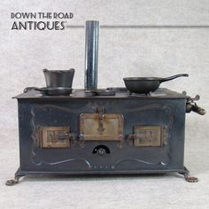 German Salesman Sample Stove - 1890's
