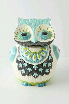 Anthropologie - Bubo Cookie Jar