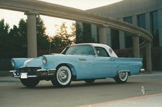 1957 Ford Thunderbird Maintenance/restoration of old/vintage vehicles: the material for new cogs/casters/gears/pads could be cast polyamide which I (Cast polyamide) can produce. My contact: tatjana.alic@windowslive.com