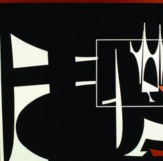 Landing (2006) Acrílico sobre tela - Rogelio Polesello (Argentina 1939-2014)
