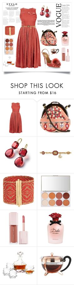 """""""CRUSHED VELVET STYLE"""" by qstyled ❤ liked on Polyvore featuring House of Holland, Emilio Pucci, Gucci, Puma, Dolce&Gabbana, Eichholtz and Bodum"""