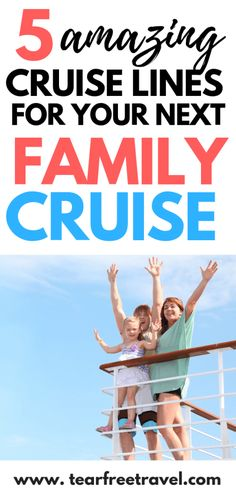 Thinking of a family cruise vacation? Here are our favorite 5 cruises for kids. These kid-friendly cruise options have the most amazing amenities for kids! Ice skating, surfing, mini putt, it's amazing what they can pack onto a a ship! Learn all about the Best Cruises For Kids, Best Family Cruises, Family Friendly Cruises, Packing List For Cruise, Disney Cruise Tips, Cruise Travel, Cruise Vacation, Disney Travel, Vacation Trips
