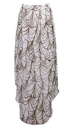Boho Women Summer Floral Long Maxi Skirts Casual Beach Sundress One Size