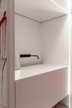 be architecten industrial concrete glass architect house minimalist raw wood design furniture yannick milpas Wooden Diy, Wooden Signs, Modern Baths, Modern Bathrooms, Traditional Paint, Interior Architecture, Interior Design, Architect House, Raw Wood