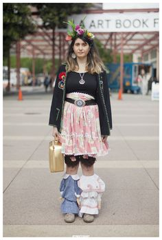 China Faith in Los Angeles Street Style Portrait | Streetgeist.com