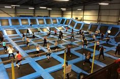 Jump Nation to open Europe's largest indoor trampoline park in the ...