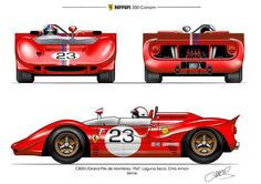 For more cool pictures, visit: http://bestcar.solutions/ferrari-350-can-am