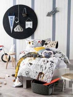 KIDS DOONA COVERS BEST IN SHOW - WHITE WHITE SINGLE QUILT COVER SETS