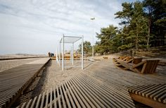 Elevated walkways / minimal materials. Sea_Park-by-Substance-06 « Landscape Architecture Works | Landezine