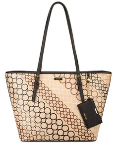 Nine West Ava 9's Signature Tote - Handbags & Accessories - Macy's