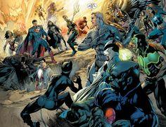 Justice League #22 by Ivan Reis