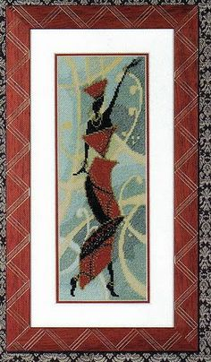 "Looney Tunes ""Caddy With A Tattitude "" Limited Edition With COA limited Giclee Renoir Paintings, African Design, Looney Tunes, African Women, Cross Stitching, Lady In Red, Needlework, Ethnic, Blog"