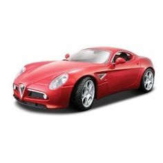 Products - Bburago 1:18 Diamond Alfa Romeo 8C Competizione (2007) Red - This diecast car is manufactured to look and function just like their life-size counterparts by Toy Products, http://www.amazon.com/dp/B008OAPVS4/ref=cm_sw_r_pi_dp_0Axeqb07SYDZR