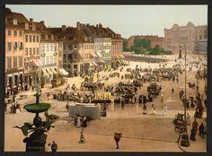 Copenhagen life around 1900, necessary activities