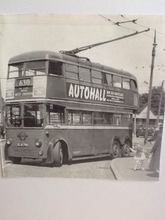 The old trolley buses.