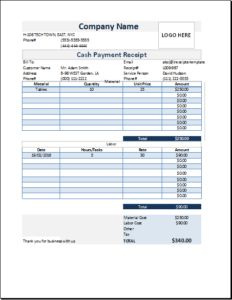 How To Make A Receipt For Payment Roommate Agreement Template Download At Httpwww.templateinn .
