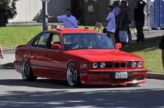 BMW E34 Bmw 525, Bmw Vintage, Bmw Motors, Bavarian Motor Works, Bmw Series, Bmw Cars, Open House, Nice, Cars 2017