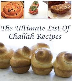 The Ultimate List Of Challah Recipes